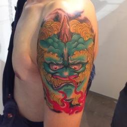 Foo Dog (China, LangFang Tattoo Convention)
