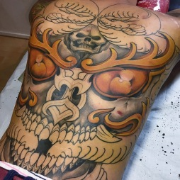 Kapala Skull (unfinish)