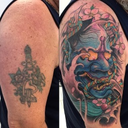 Hannya cover up