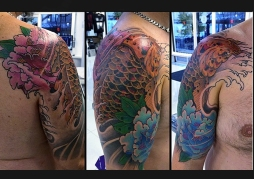 Koi Peonies (Cover up)