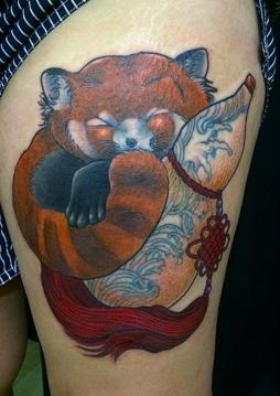Red panda Hulu